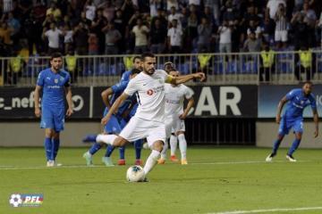 Лига чемпионов: «Нефтчи» уступил «Олимпиакосу»