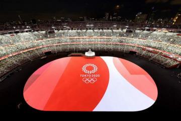 Сборная Азербайджана приняла участие в параде Олимпиады в Токио