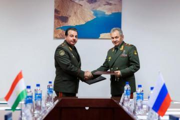 Министры обороны России и Таджикистана обсудили ситуацию в Афганистане