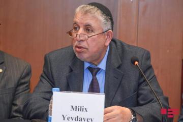 """Milikh Yevdayev awarded """"Sharaf"""" order"""