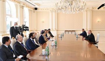 Президент Ильхам Алиев принял делегацию во главе с председателем Национального собрания Пакистана - [color=red]ОБНОВЛЕНО-1[/color]