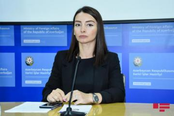 Leyla Abdullayeva: Armenia bears full responsibility for the escalation of tensions along the state border of two states