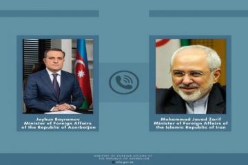 Джейхун Байрамов провел телефонный разговор с главой МИД Ирана