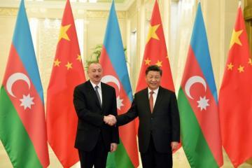 Состоялся телефонный разговор между президентом Азербайджана и председателем Китая