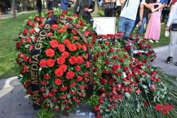 Employees of APA Media Group commemorated media workers, martyred in Kalbajar
