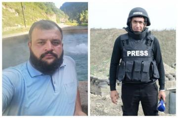 Media Development Agency disseminates information about journalists of Azertag and AzTV who stepped on mine and died