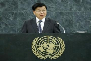 Президент Лаоса поздравил азербайджанского коллегу