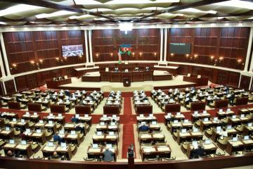First meeting in extraordinary session of Azerbaijani Parliament kicks off