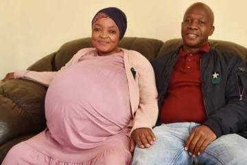 Женщина в ЮАР установила мировой рекорд, родив сразу 10 детей