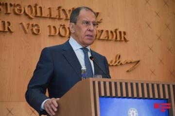 "Russian FM: ""We help restoration of peaceful life in Nagorno-Karabakh"""