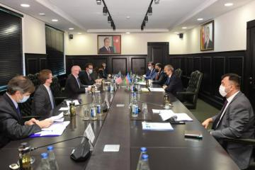 Participation of US companies in reconstruction of liberated territories discussed