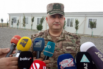 """General Hikmat Hasanov: """"It is ensured that Azerbaijani soldiers are engaged in more effective, perfect combat training"""""""