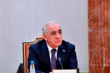 Али Асадов поздравил Михаила Мишустина с Днём России