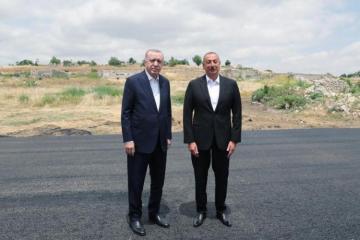 Начался визит президентов Азербайджана и Турции в Шушу - [color=red]ОБНОВЛЕНО[/color]