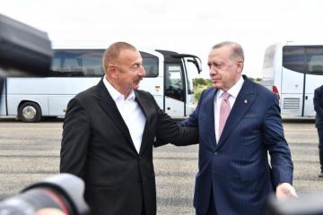 В Шуше состоялась встреча президентов Азербайджана и Турции один на один - [color=red]ОБНОВЛЕНО[/color]