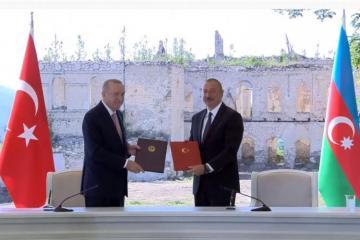Азербайджан и Турция подписали Шушинскую декларацию о союзничестве-[color=red]ОБНОВЛЕНО[/color]