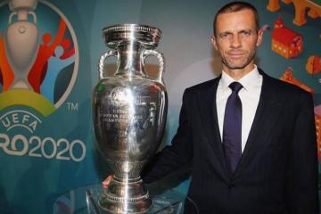 UEFA President arrives in Baku to watch Turkey-Wales match