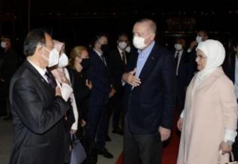 """Завершился официальный визит президента Турции в Азербайджан-<span class=""""red_color"""">ФОТО</span>"""