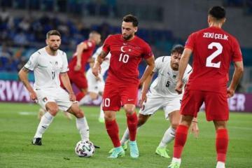 Сборная Турции проиграла Уэльсу на Евро-2020