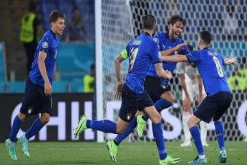 Сборная Италии первой вышла в 1/8 финала на Евро-2020
