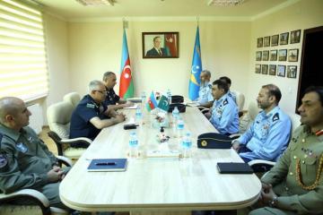 ВВС Азербайджана и Пакистана обсудили вопросы сотрудничества-[color=red]ФОТО[/color]