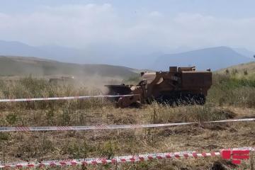 К разминированию освобожденных от оккупации территорий привлечены 10 машин «MEMATT»-[color=red]ВИДЕО[/color]