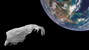 Астероид размером в две статуи Свободы приближается к Земле