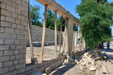 Госагентство по контролю над безопасностью в строительстве МЧС предотвратило еще одно нарушение – [color=red]ВИДЕО – ФОТО[/color]