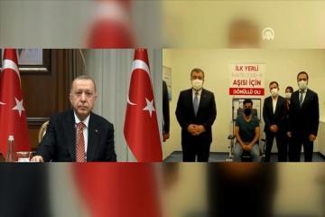 Turkey names domestic COVID-19 vaccine Turkovac