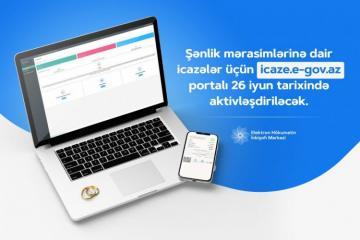 В Азербайджане с сегодняшнего дня активируется портал для разрешений на свадьбы