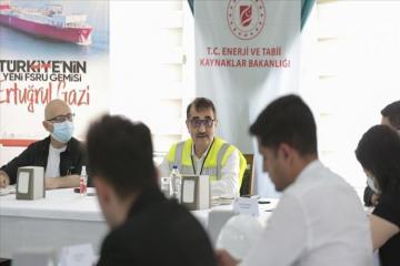 Министр рассказал о работе по поставке природного газа из Турции в Нахчыван