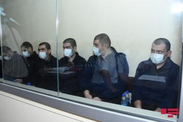 Members of Armenian armed group, who committed terror provocation acts, testify in court
