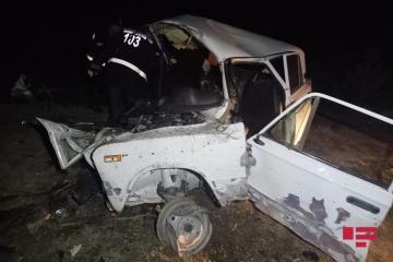 При ДТП в Барде погибли 2 человека, 3 члена одной семьи тяжело ранены - [color=red]ОБНОВЛЕНО[/color] - [color=red]ФОТО[/color]