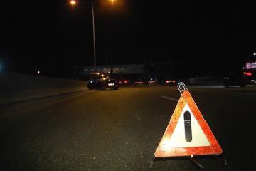 В Балакяне перевернулся принадлежащий турецкой компании грузовик