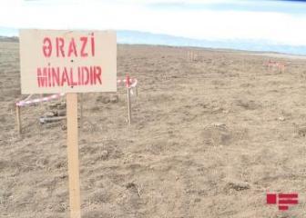 Мины армянского производства обнаружены на территории в Агдамском районе, где на мине подорвался чиновник