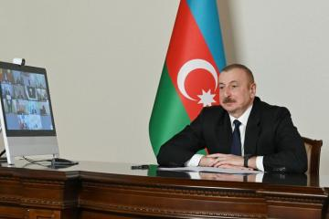 Президент Ильхам Алиев: Азербайджан стал одним из основных и надежных транспортных и логистических центров Евразии