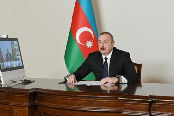 Президент: Азербайджан сам обеспечил выполнение резолюций СБ ООН и восстановил свою территориальную целостность