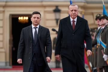 Зеленский выразил соболезнования Турции в связи с крушением вертолета