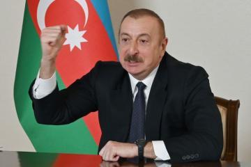 """Prezident İlham Əliyev: """"Zəngəzur dəhlizi tarixi nailiyyətdir"""""""