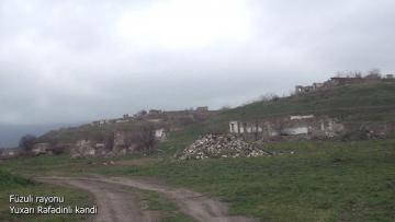 Село Юхары Рефединли Физулинского района - [color=red]ВИДЕО[/color]