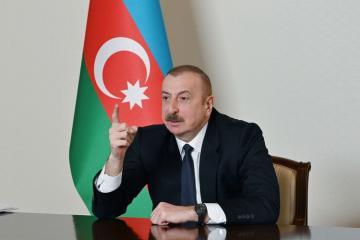 Президент: Однозначные, решительные шаги Гейдара Алиева, связанные с независимостью, высоко оценивались народом