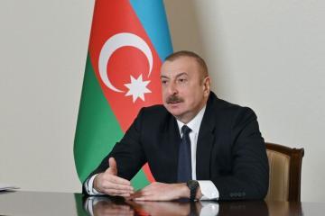 Президент Ильхам Алиев: Создание Партии «Ени Азербайджан» было необходимостью