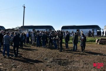 Представители дипломатического корпуса побывали на освобожденных территориях Азербайджана