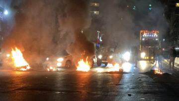 В Ливане пятый день продолжаются беспорядки