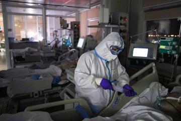 В США выявили 58,4 тысячи новых случаев COVID-19