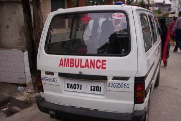 Hindistanda ofis binasında baş vermiş yanğın zamanı 7 nəfər ölüb