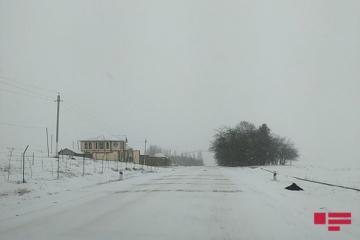 В регионах Азербайджана идут снег и дожди - [color=red]ФАКТИЧЕСКАЯ ПОГОДА[/color]
