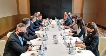 Состоялась встреча глав МИД Азербайджана и Венгрии