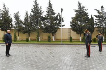 Prezident İlham Əliyev Daxili Qoşunların hərbi hissəsinin açılışında iştirak edib - [color=red]YENİLƏNİB[/color]