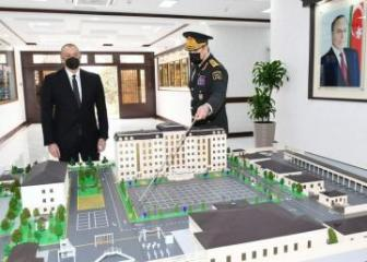 President, Commander-in-Chief Ilham Aliyev inaugurated newly-built military unit of Internal Troops of Ministry of Internal Affairs - [color=red]UPDATED[/color]